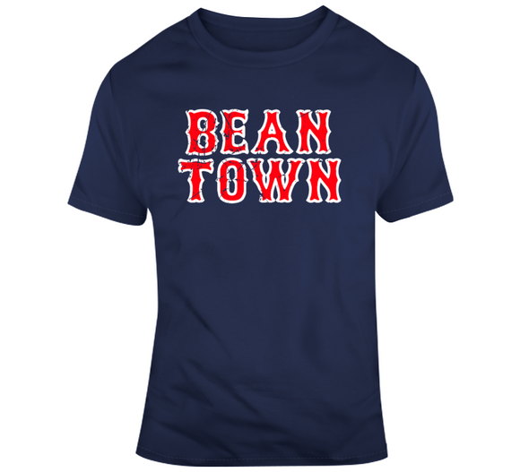 Beantown Boston Baseball Fan Distressed v2 T Shirt