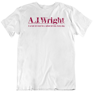 AJ Wright DEPARTMENT STORE Retro Distressed v2 T Shirt