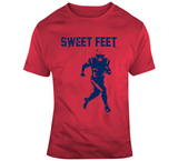 James White Sweet Feet New England Football Fan T Shirt