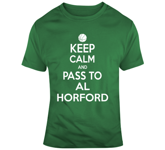 Al Horford Keep Calm Boston Basketball Fan T Shirt