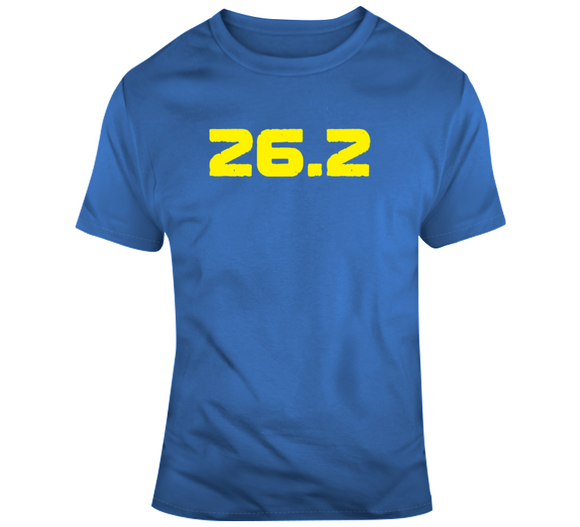 Boston Marathon Inspired 26.2 Miles T Shirt