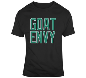 Goat Envy Boston Basketball Fan T Shirt