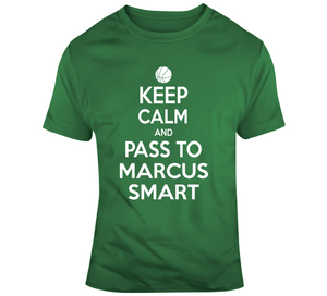 Marcus Smart Keep Calm Boston Basketball Fan T Shirt