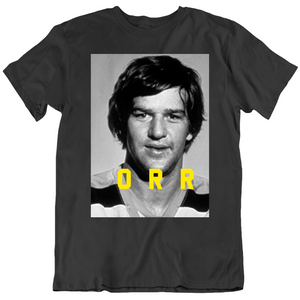Bobby Orr D Man Profile Boston Hockey Fan T Shirt