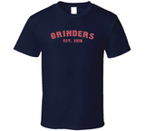 Grinders Est 2018 Champions Boston Baseball Fan T Shirt