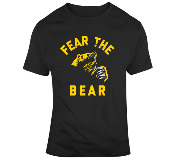 Fear The Bear Boston Hockey Fan v2 T Shirt