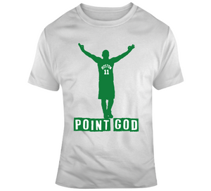 Kyrie Irving Point God Boston Basketball T Shirt