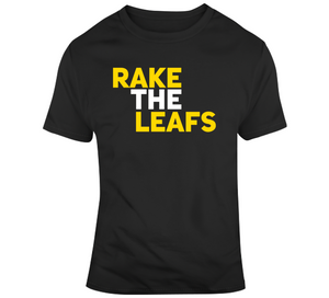 Rake The Leafs Playoff Boston Hockey Fan T Shirt