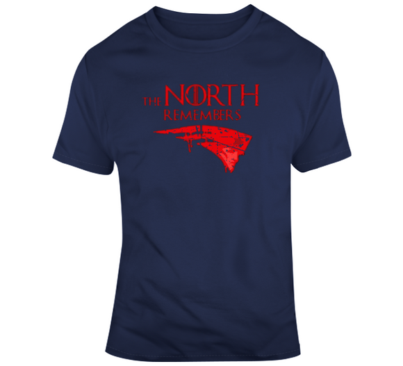 Matt Patricia The North Remembers New England Football Distressed T Shirt