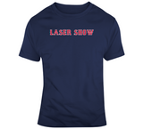Dustin Pedroia Nickname Laser Show Boston Baseball Fan T Shirt