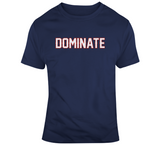 Dominate New England Football Fan T Shirt