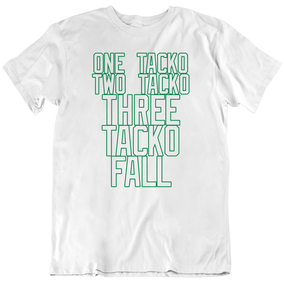 Tacko Fall One Tacko Two Tacko Boston Basketball Fan V3 T Shirt