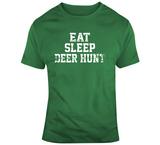 Eat Sleep Deer Hunt Boston Basketball Fan T Shirt