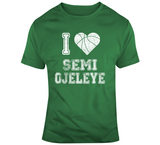 Semi Ojeleye I Heart Boston Basketball Fan T Shirt