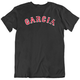 Boston Faithful Garcia Baseball Fan Distressed T Shirt