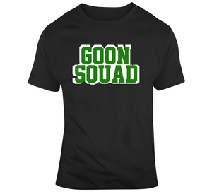 Goon Squad Playoff Boston Basketball Fan T Shirt