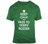 Terry Rozier Keep Calm Boston Basketball Fan T Shirt