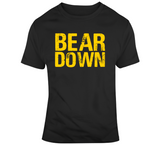 Bear Down Boston Hockey Fan T Shirt