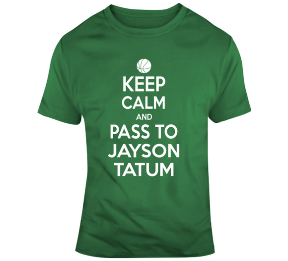 Jayson Tatum Keep Calm Boston Basketball Fan T Shirt