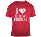 Drew Pomeranz I Heart Boston Baseball Fan T Shirt