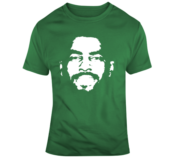 Kyrie Irving Silhouette Big Head Boston Basketball Fan T Shirt