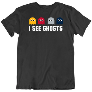 I See Ghosts Defense New England Football Fan T Shirt