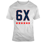 6 Time World Champs New England Football Fan T Shirt