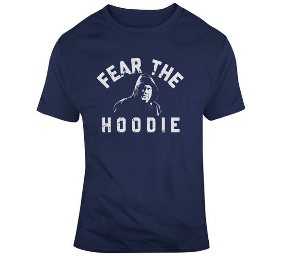 Fear The Hoodie Bill Belichick New Engalnd Football Fan T Shirt