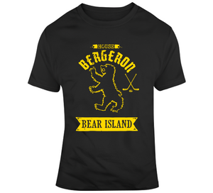 Game Of Thrones House Bergeron Sigil Boston Hockey Fan T Shirt