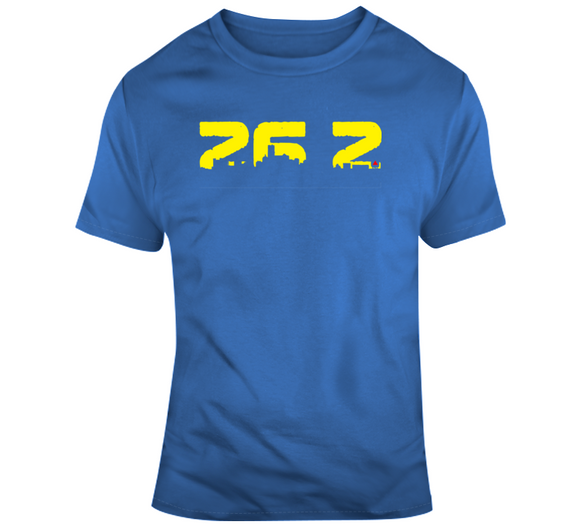 Boston Marathon inspired 26.2 miles City Skyline v2 T Shirt