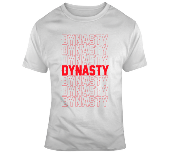 Dynasty Dynasty Dynasty New England Football Fan T Shirt