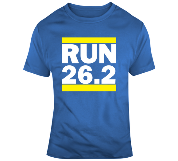 Boston Marathon Inspired Run 26.2 Miles Cool T Shirt