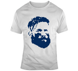 Fear The Beard Julian Edelman New England Football Retro 8 Bit Style T Shirt