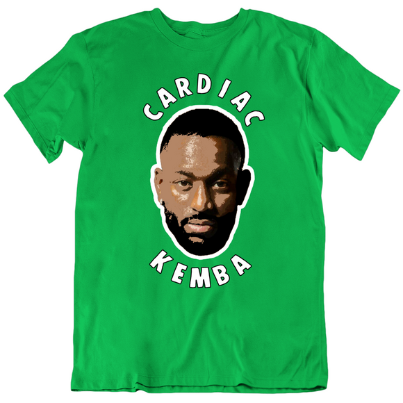 Cardiac Kemba Walker Big Head Boston Basketball Fan v2 T Shirt