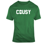 Bob Cousy 14 Cousy Boston Legend Basketball Fan T Shirt