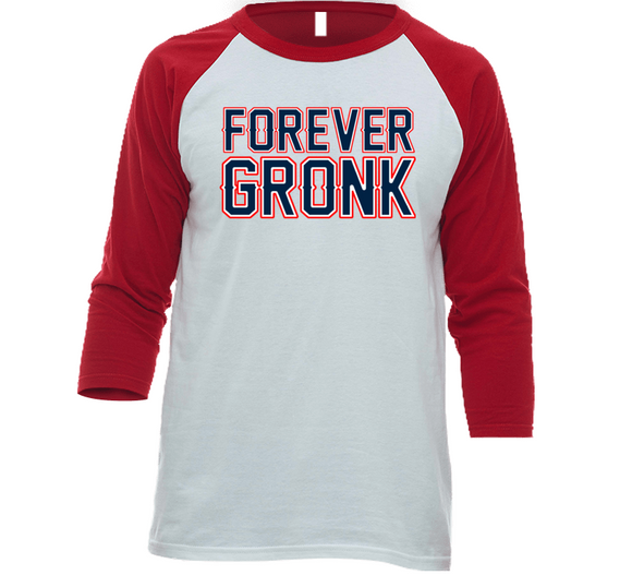 Rob Gronkowski Forever Gronk  New England Football Fan T Shirt