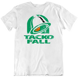 Tacko Fall Boston Funny Parody Taco Basketball Fan T Shirt