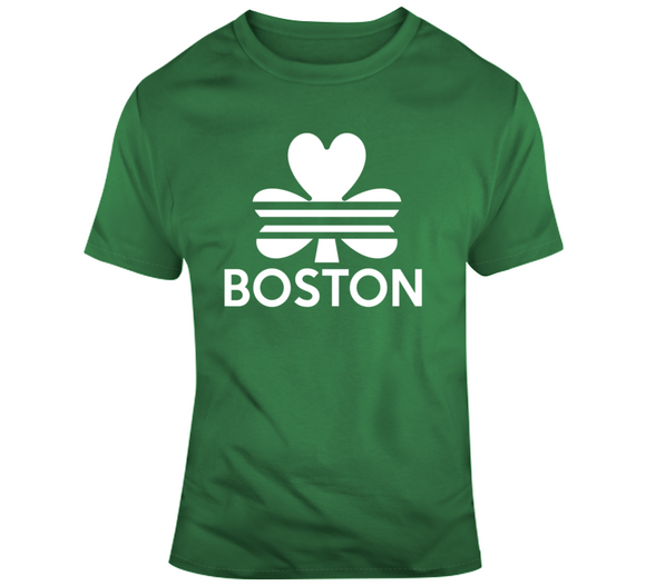 Lucky Boston St Pat's T Shirt