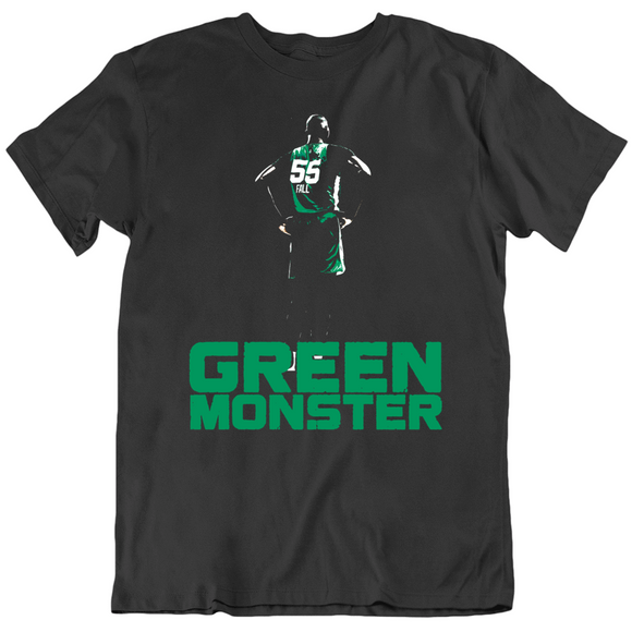 Tacko Fall Boston Green Monster Basketball Fan T Shirt