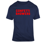 Title Town Champs Confetti Showers New England Football Fan T Shirt