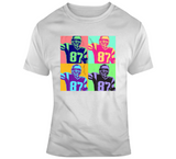 Rob Gronkowski The Gronk Warhol Style New England Football Fan T Shirt