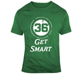 Marcus Smart Get Smart Boston Basketball  Fan Distressed T Shirt