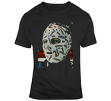 Gerry Cheevers Goalie Mask Boston Hockey Fan v3 T Shirt