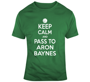Aron Baynes Keep Calm Boston Basketball Fan T Shirt