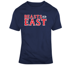 Defend The East Beasts of The East Boston Baseball Fan T Shirt