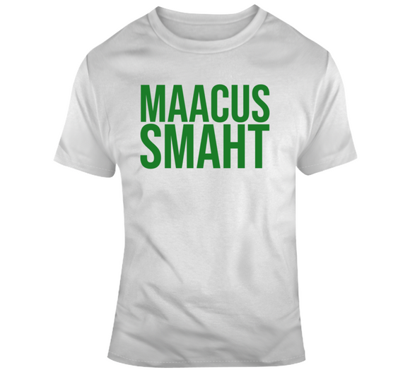 Marcus Smart Maacus Smaht Boston Basketball Fan T Shirt