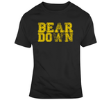 Bear Down Boston Hockey Fan V2 T Shirt