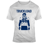 James Develin Truckload New England Football Fan Silhouette T Shirt