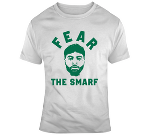 Boston Basketball Marcus Smart Fear The Smarf Fan T Shirt