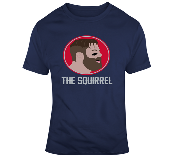 Julian Edelman The Squirrel New England Football Fan T Shirt